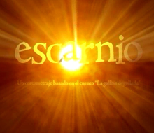 "Title design and visual FX short film ""escarnio"""