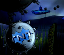 Motion graphis opening tv show «TNT»