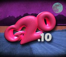 "Motion graphics broadcast design ""G-20"" tv show"