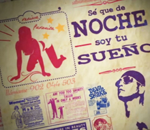 """Motion graphics """"Mujer blanca soltera busca"""" TV Show Opening"""